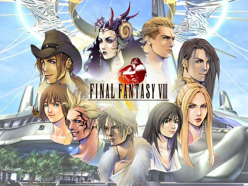 Final Fantasy Viii Characters Final Fantasy Collection Final Fantasy Fantasy Games