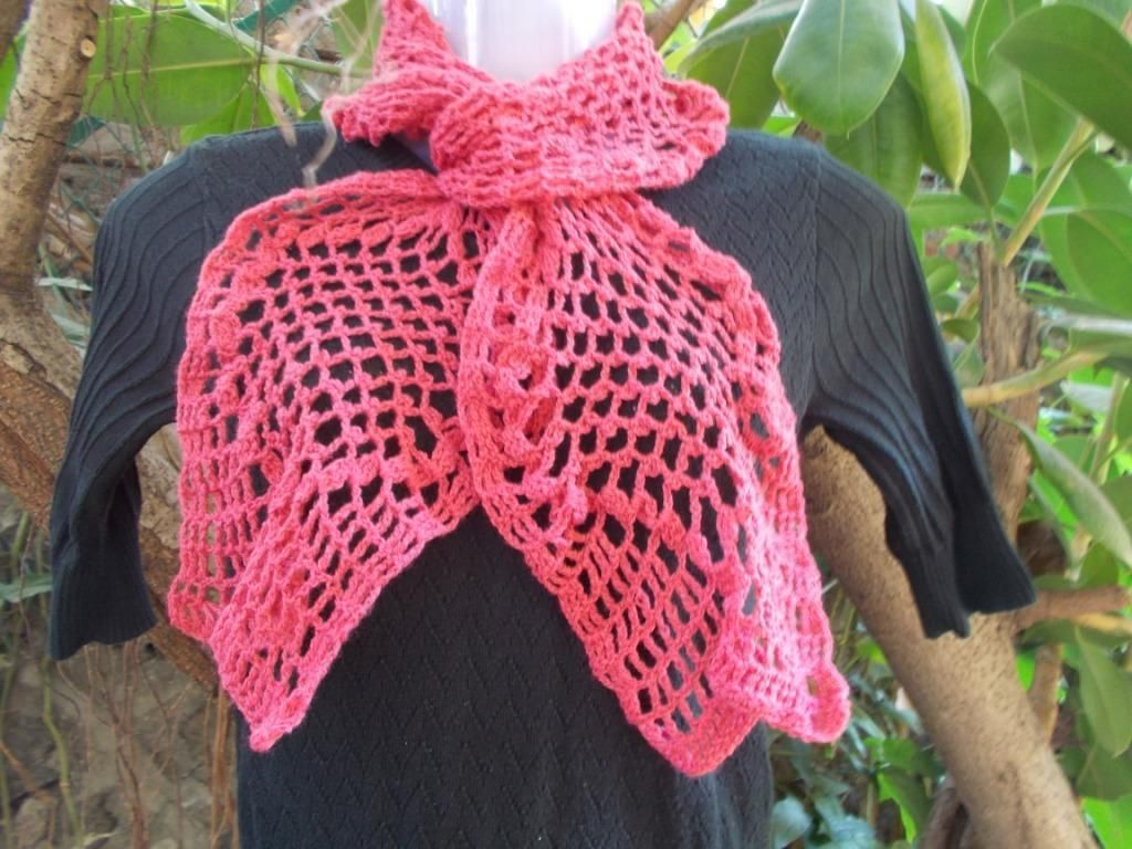 You're going to love Helical Scarf by designer Sweet Nothings. This is a free pattern via Craftsy @ http://www.craftsy.com/pattern/crocheting/accessory/helical-scarf/90817