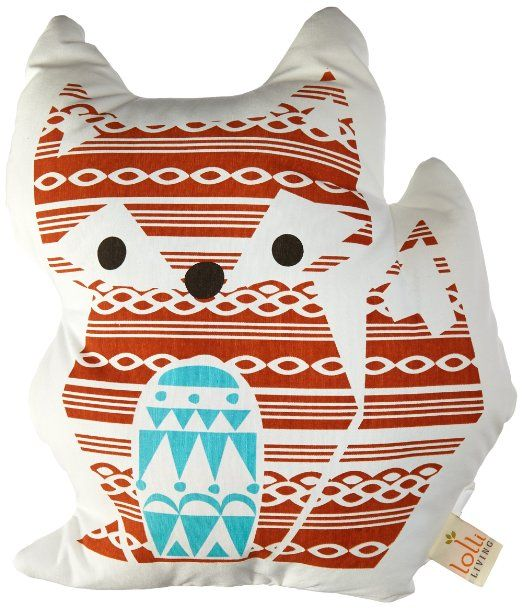 Lolli Living Woods Character Pillow, Fox