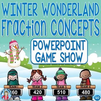 math worksheet : fractions game show fractions powerpoint game 2nd  4th grade  : Fractions For 2nd Grade Powerpoint