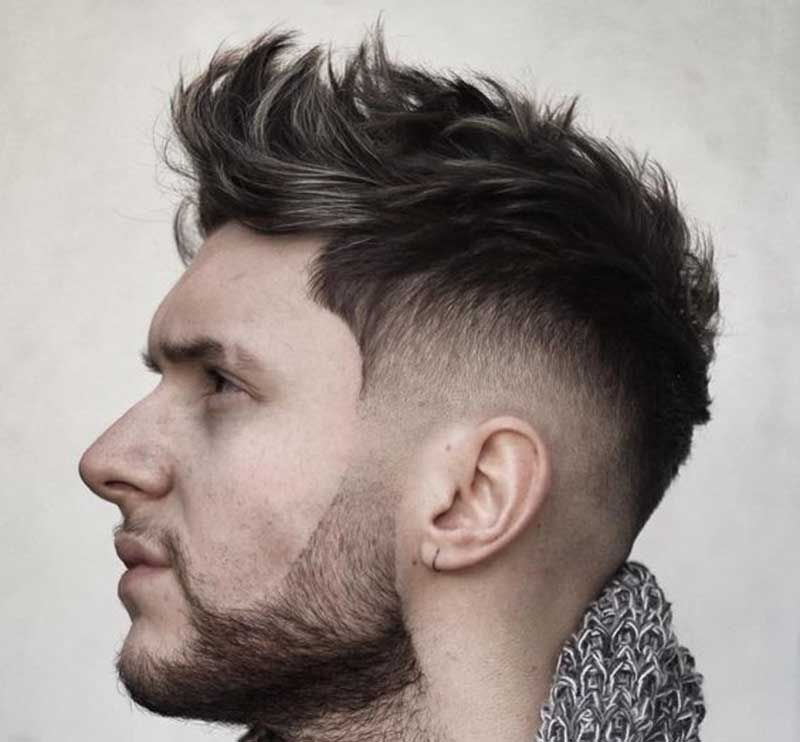 25 Best Faux Hawk Hairstyles Fohawk For Men In 2020 Men S Hairstyle Tips Cool Hairstyles For Men Mens Haircuts Fade Faux Hawk Hairstyles