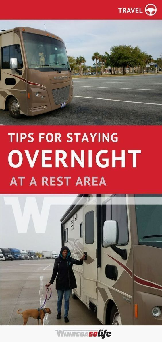Tips for Staying Overnight at a Rest Area | All Things RVing