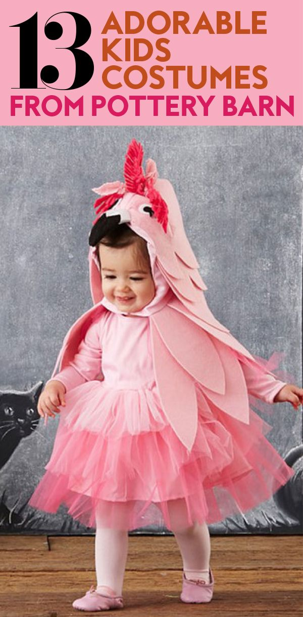 See Pottery Barn Kids's Cutest Halloween Costumes for Tiny