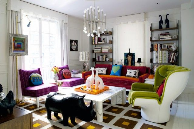 17 Living Rooms With A Pop Of Color  Living Room Decor Alluring Fun Living Room Ideas Design Inspiration