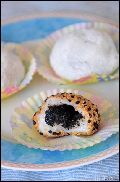 black sesame seed mochi food black sesame seeds dessert recipes black sesame seed mochi food black