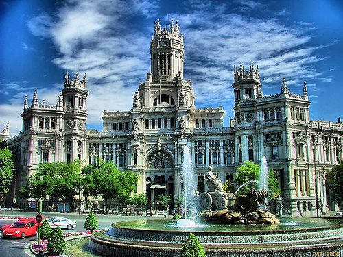 Plaza Cibeles Madrid Spain Places To Travel Places Madrid