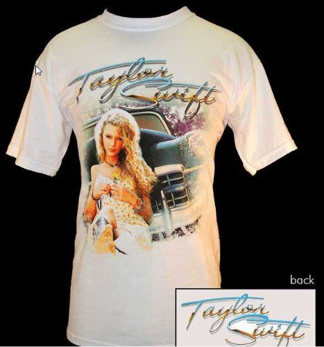 Taylor Swift T Shirt Vintage Doubled Sided 1st Tour T Shirt Youth Medium Tour T Shirts Mens Tops T Shirt