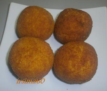 Arancini alla siciliana – Gefüllte Reiskugeln #polpetterezept