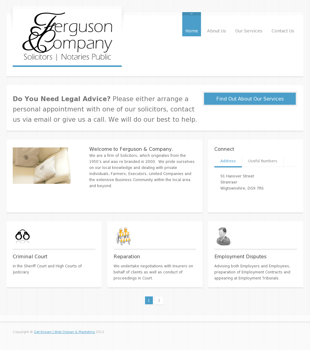 Another web design by Get Known   Web Design & Marketing
