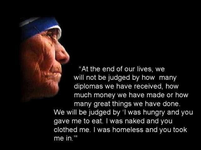 Top Mother Teresa Quotes About Feeding The Hungry