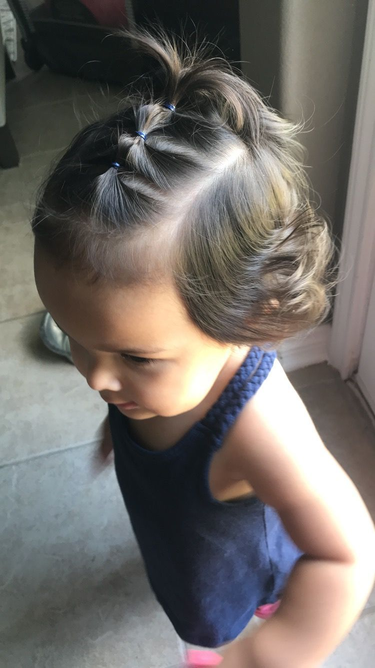 17 Simple And Adorable Toddler Girl Hairstyles For Medium To Long Hair Just Simply Mom In 2020 Girl Hair Dos Easy Toddler Hairstyles Cute Toddler Hairstyles