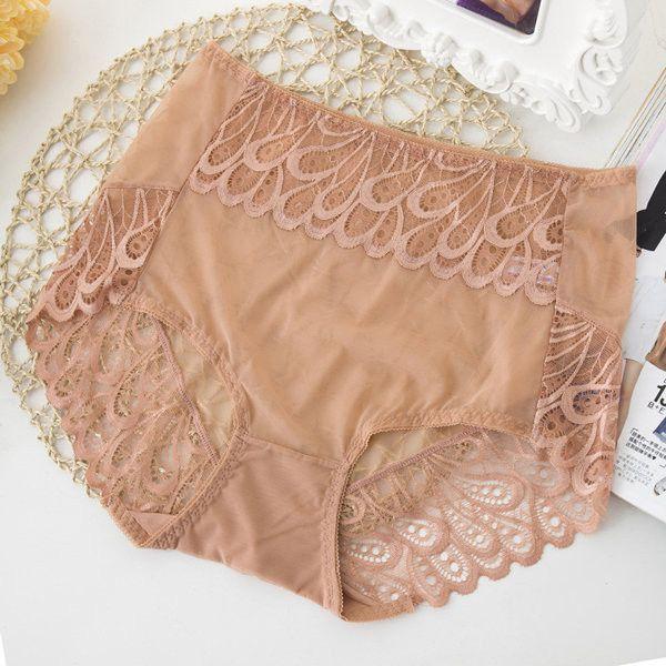 00b9156ec0a Item Specifics  Item Type Panties Underwear Gender Women Material 90%Nylon  10%Spandex Waist Type Mid Waist Feature See Through Mesh Ultrathin Lace ...