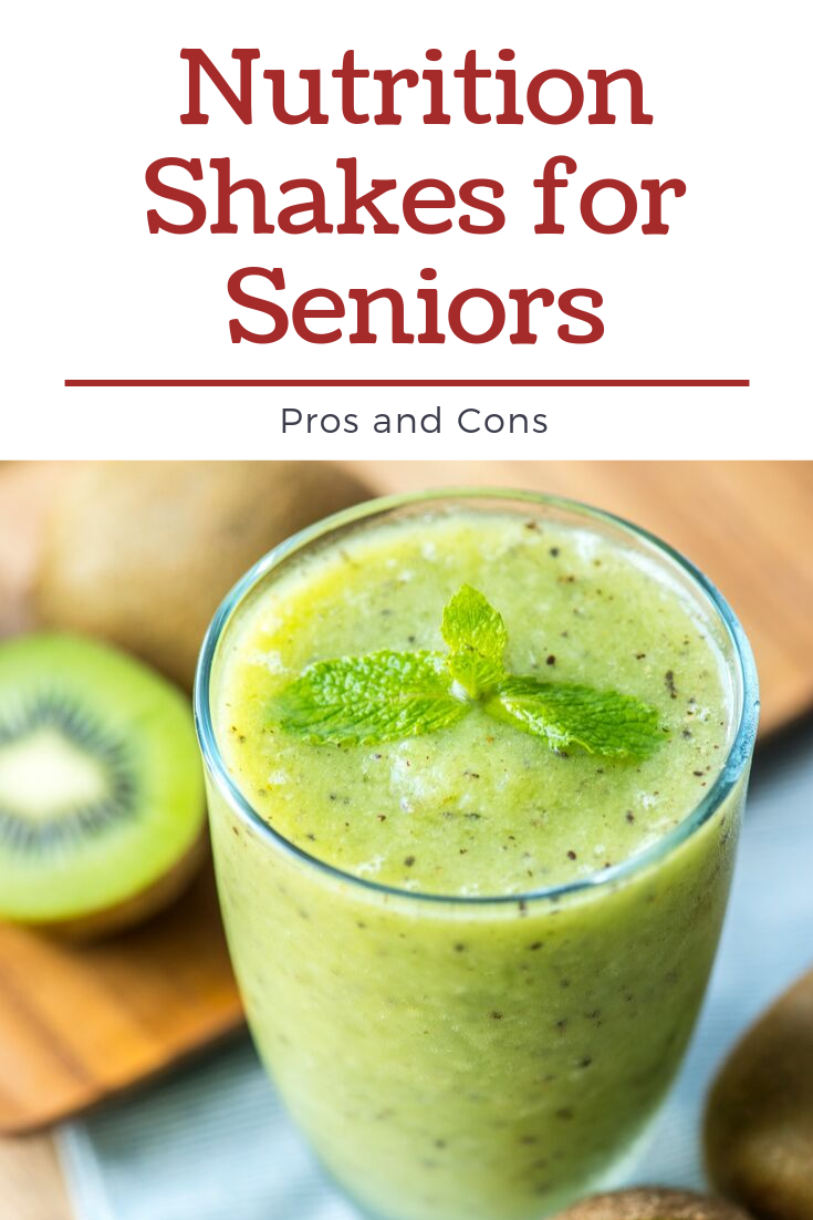 There are many different nutritional shakes for seniors