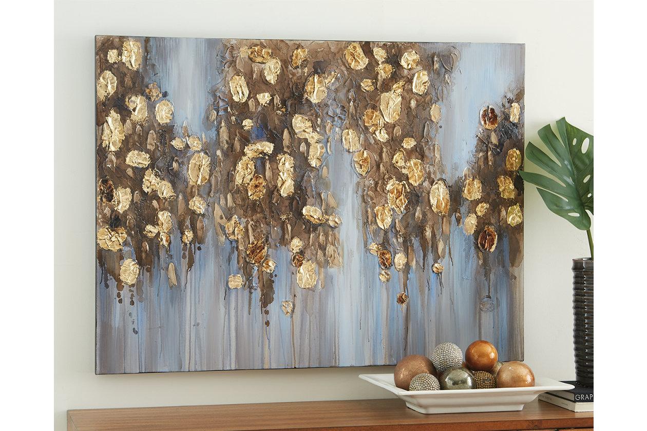 Magnificent Wall Art Showcase Your Artistic Side Ashley Furniture Home Remodeling Inspirations Gresiscottssportslandcom
