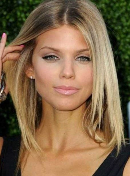 Celebrity Hairstyles Medium Length Hairstyles Hairstyles For Medium Hair Mid Length Haircuts H Medium Length Hair Styles Medium Hair Styles Short Thin Hair