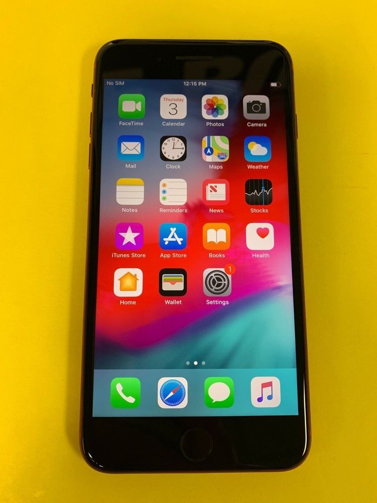 Ebay Sponsored Apple Iphone 8 Plus Product Red 64gb At T