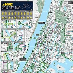 Nyc Dot Bicycle Maps Map Nyc Park
