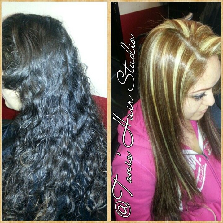 Antes y despues que Bella transformation @Toni's Hair Studio
