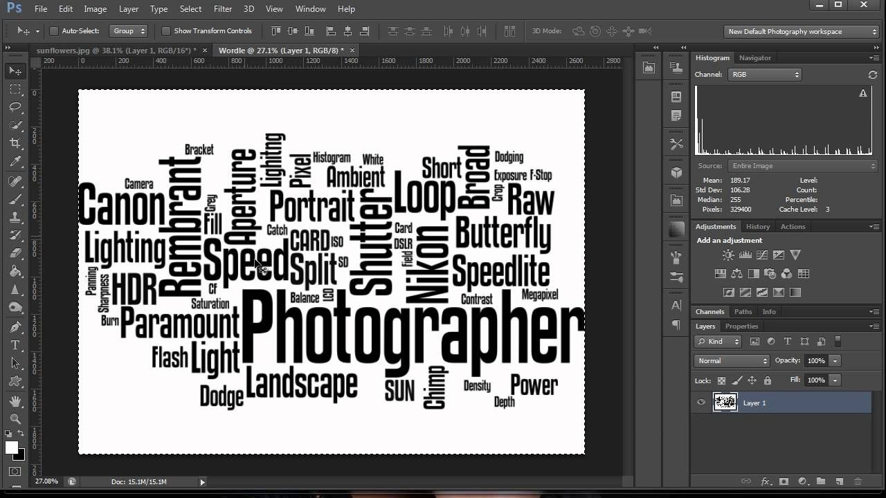 How To Make A Word Cloud In Make a word cloud