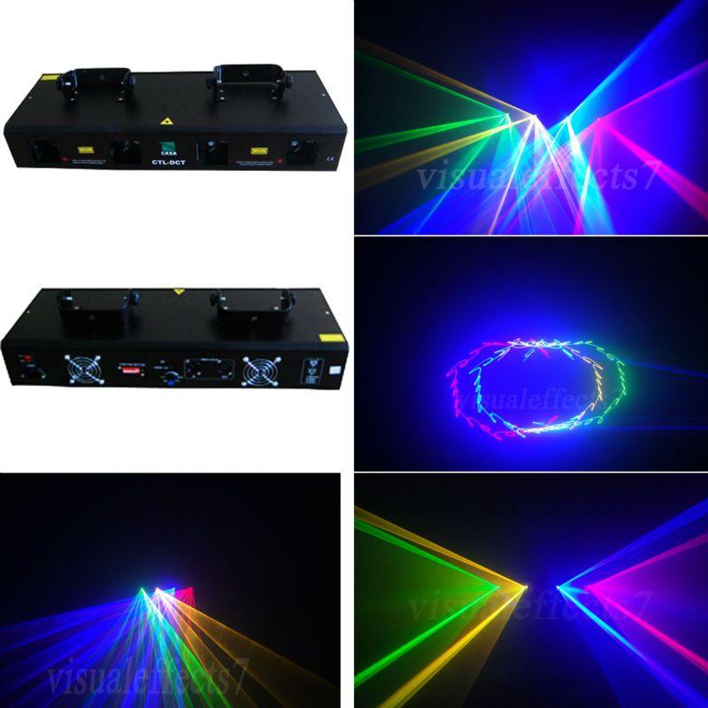 Hot Sale 800mw Rgyb Dmx Sound Control Dj Disco Laser Light Stage Lighting Show Equipment Disco Laser Lights Disco Lights Commercial Lighting