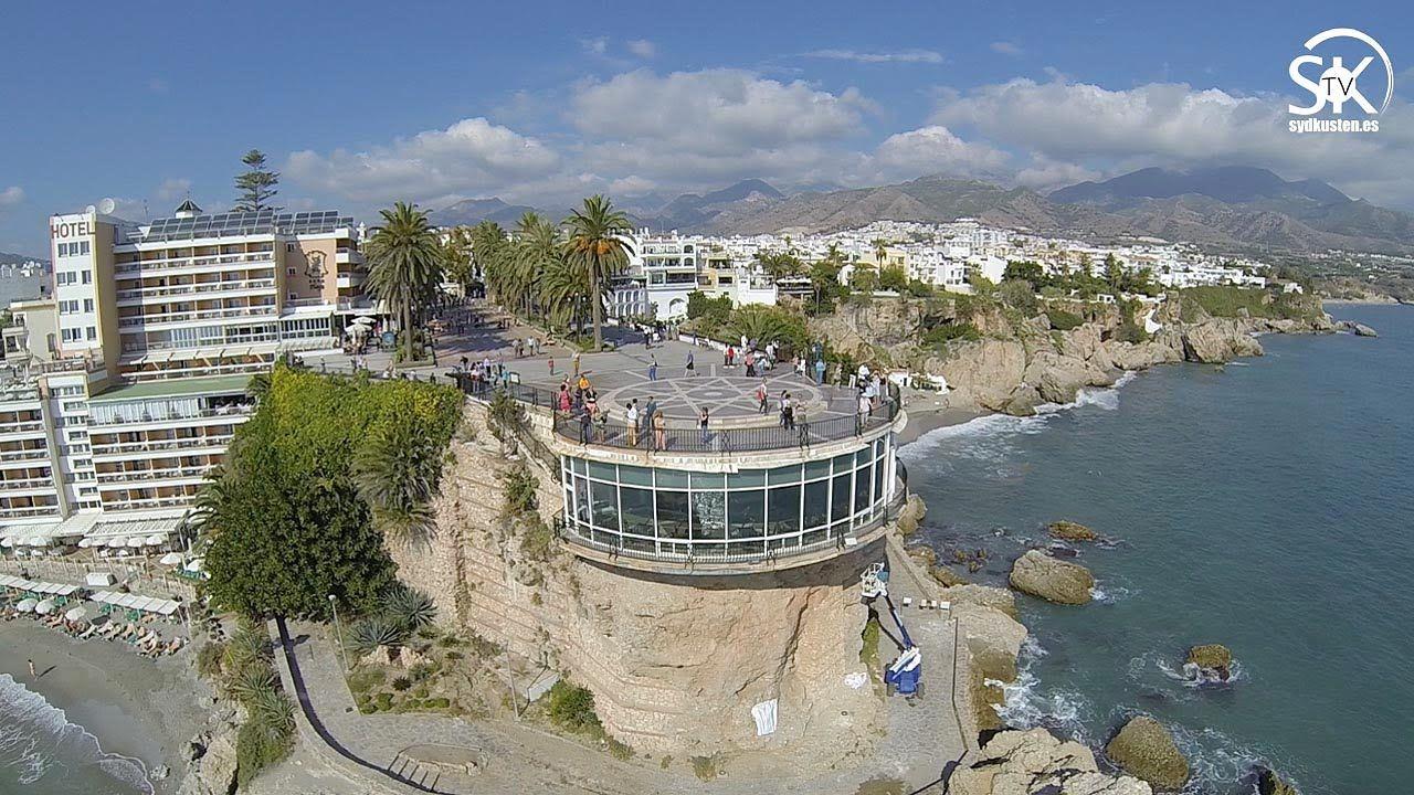 Balcon De Europa Nerja A Vista De Pajaro Nerja Rutas Espana