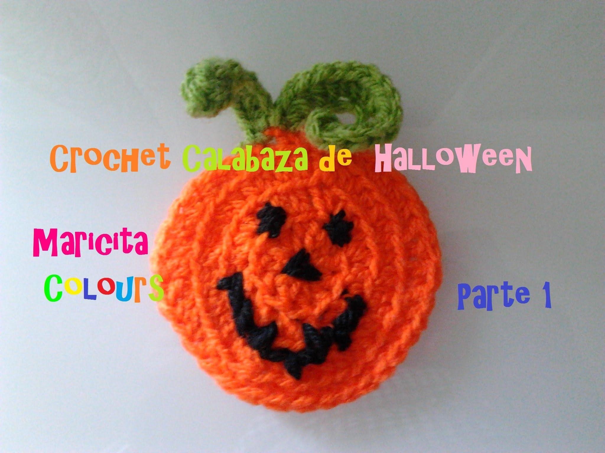 Crochet Tutorial Calabaza de Halloween Niños(Parte 1) - Aplicación