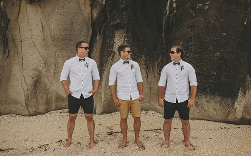 Shirt And Shorts Casual Groom What Style Of Groom Are You
