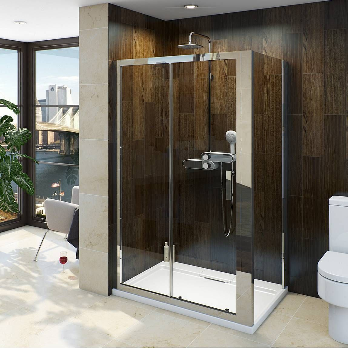V8 8mm Framed Sliding Shower Enclosure 1000 X 700 Victoria Plumb Sliding Shower Door Shower Doors Shower Enclosure