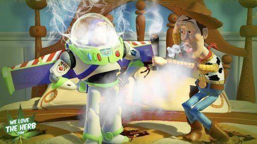 Buzz n Woody growing up
