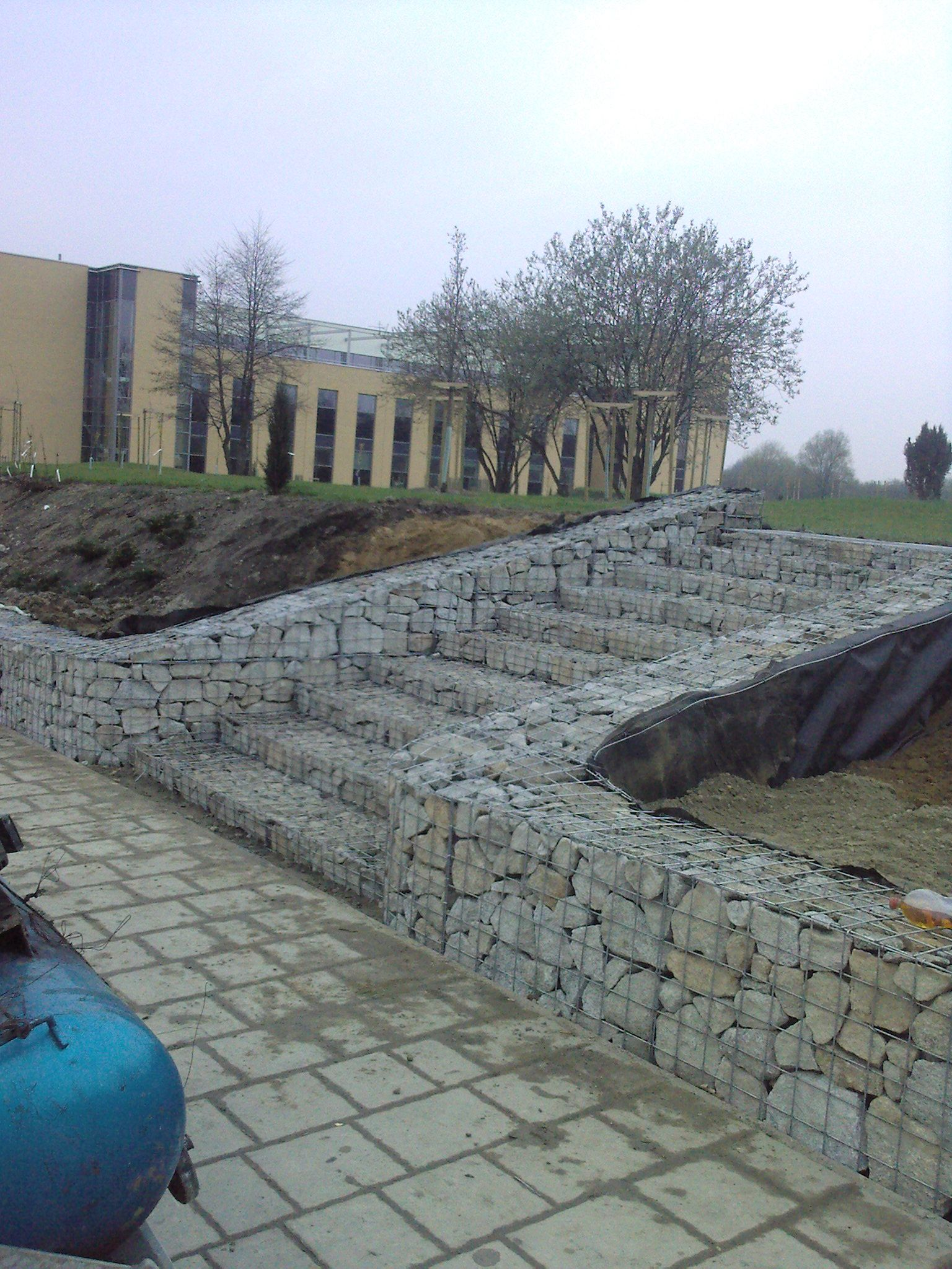 Pingl par christian thiel sur architecture pinterest for Decoration jardin gabion