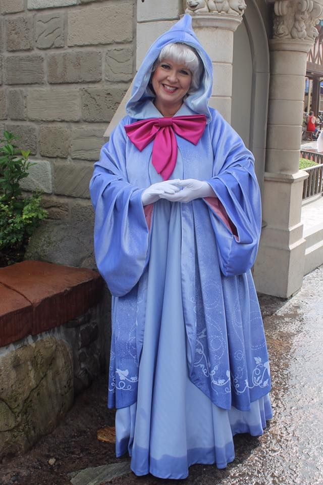 Fairy Godmother Updated Look October 2017 At Magic Kingdom From