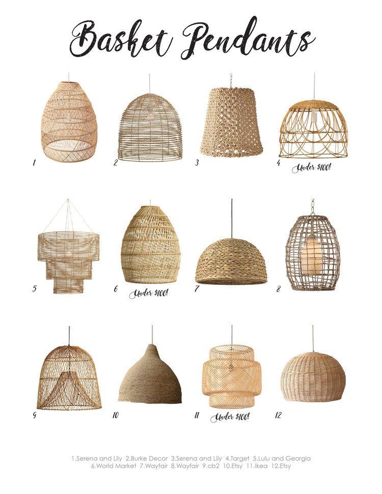 Basket Pendants — West of Lincoln