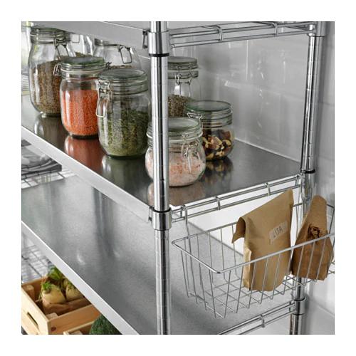 Plankbeschermer OMAR Shelf liners, Ikea omar, Wire shelving