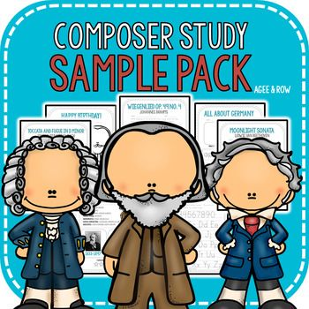 Celebrate the birthday and achievements of Brahms, Beethoven, and - sample fact sheets