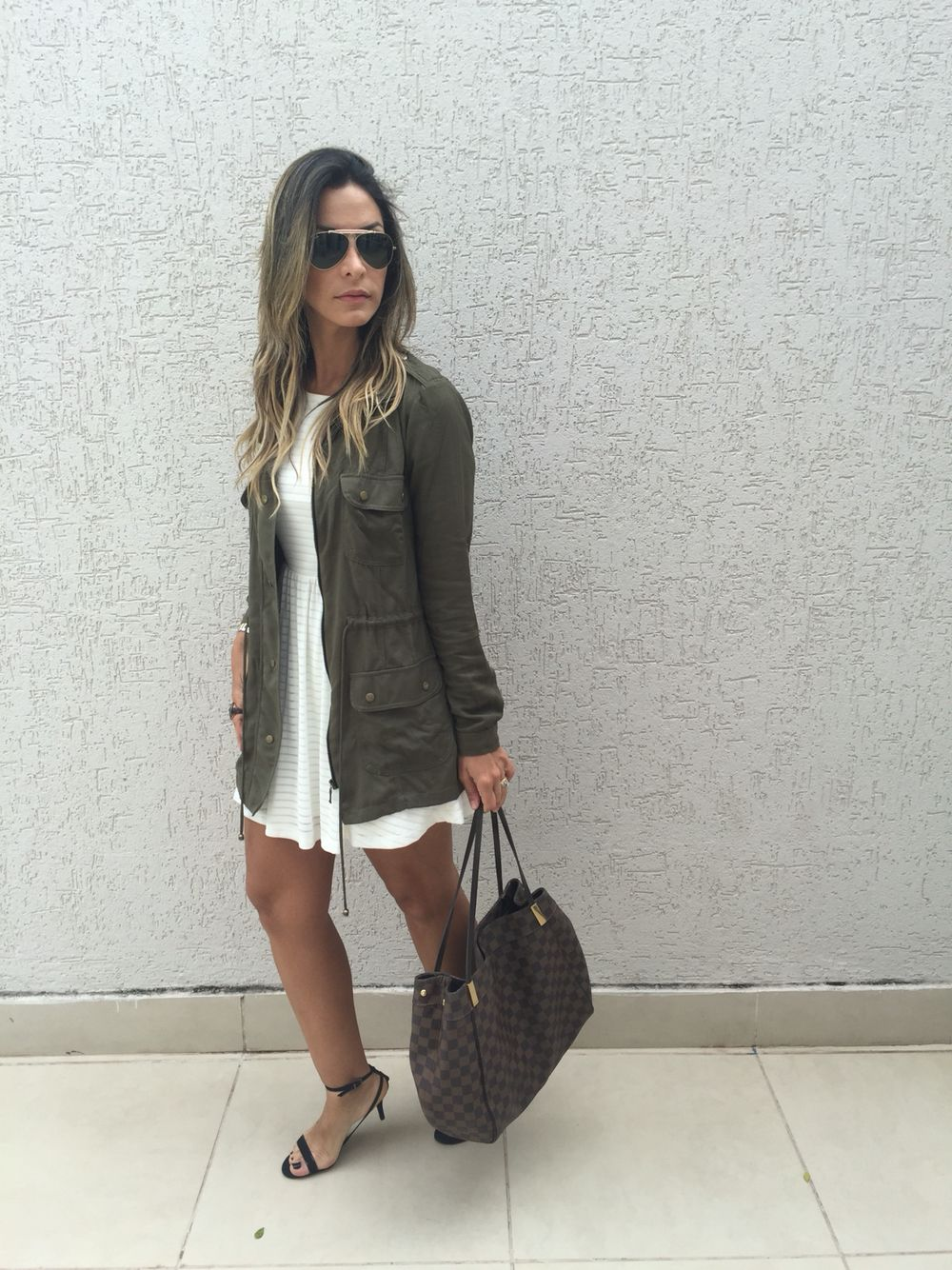 Jaqueta verde militar moda pinterest