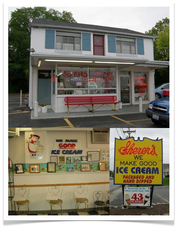 Sherer S Ice Cream I Didn T Get Any Better Than This North Main Street In Dayton Across From Forest Park Dayton Ohio Dayton Ohio