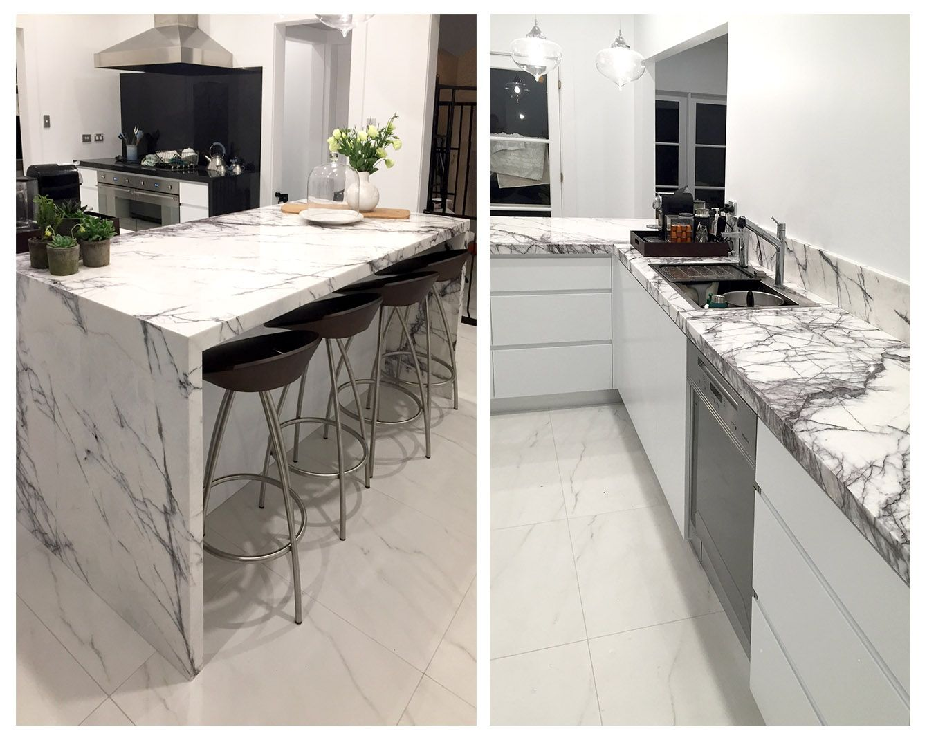 Kitchen Granite Benchtops New York Marble Used For Bench Tops Made By Marable Slab House In