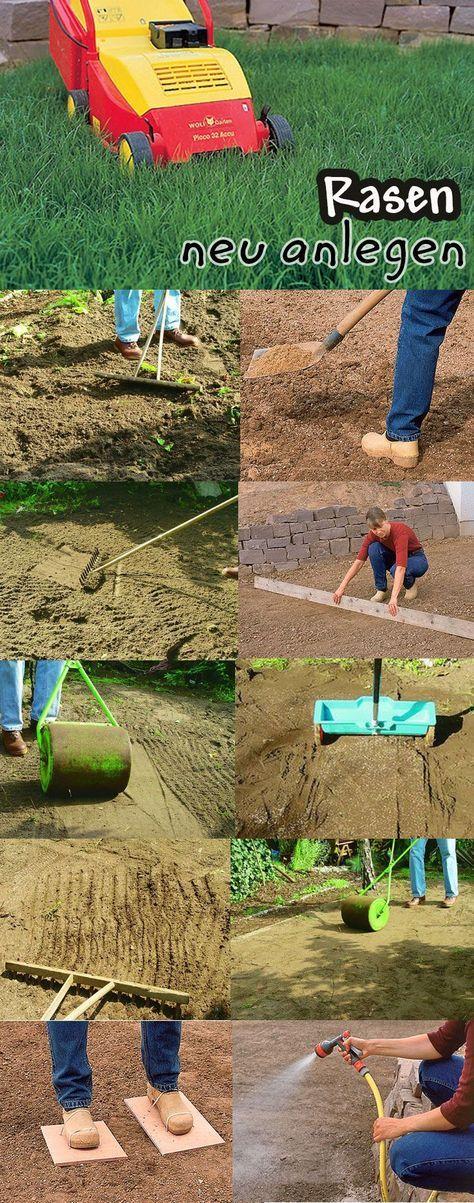 Rasen neu anlegen | selbst.de #vorgartenanlegen