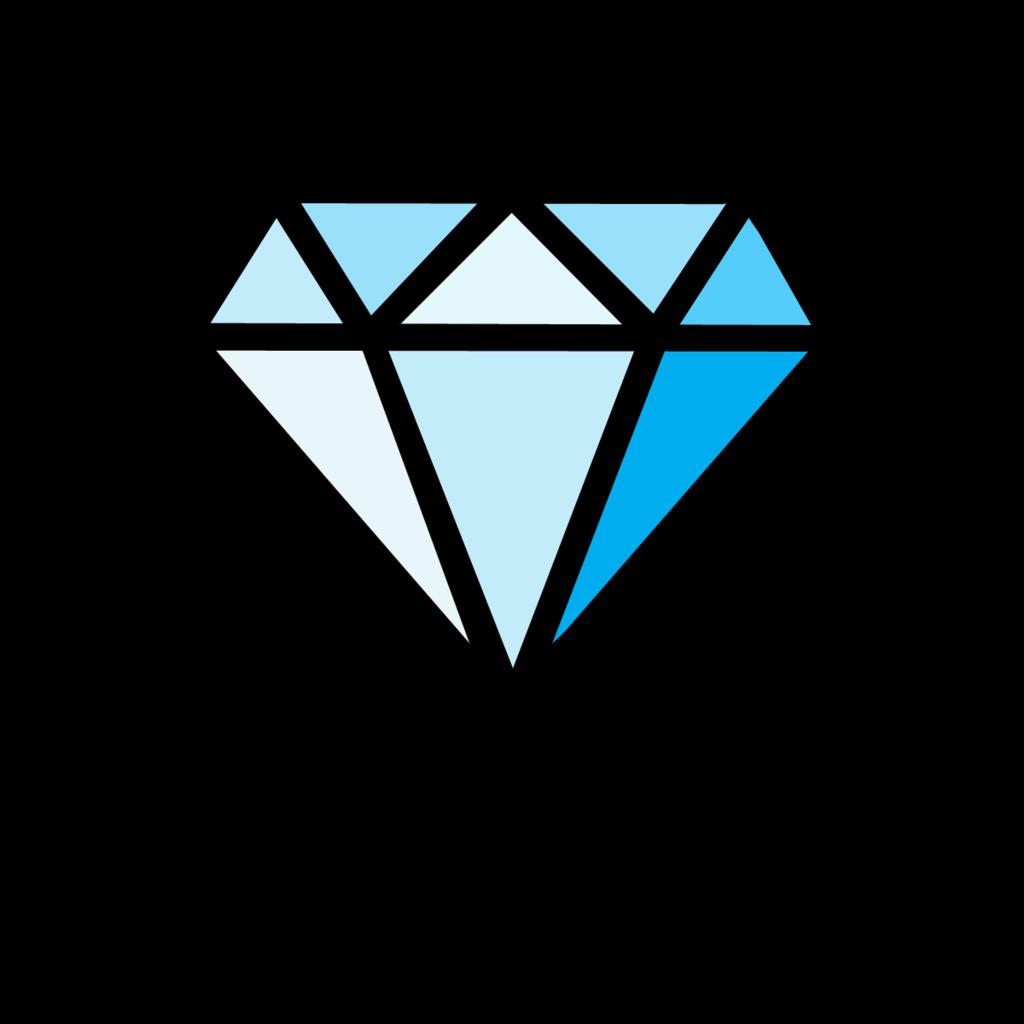 Brilliant Blue Png Image Diamond Drawing Diamond Vector Diamond Graphic