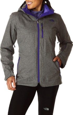 7a5bf8848b Graphite Grey Heather - The North Face ThermoBall Snow Triclimate 3-in-1  Parka - Women s
