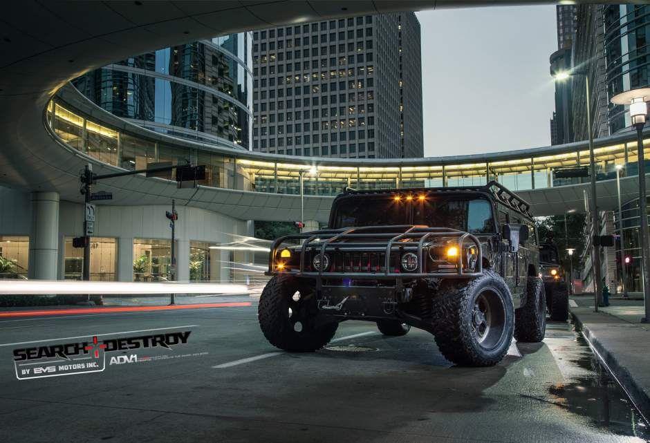 Gallery: EVS Motors Search & Destroy Hummer H1 - Motorward | Cars ...