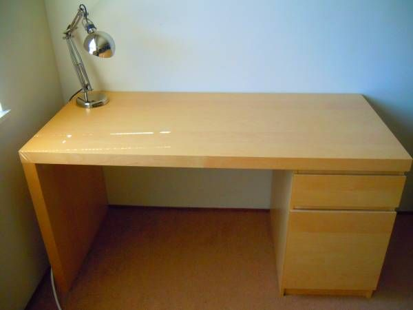 Writing Desk Ikea Malm Craigslist