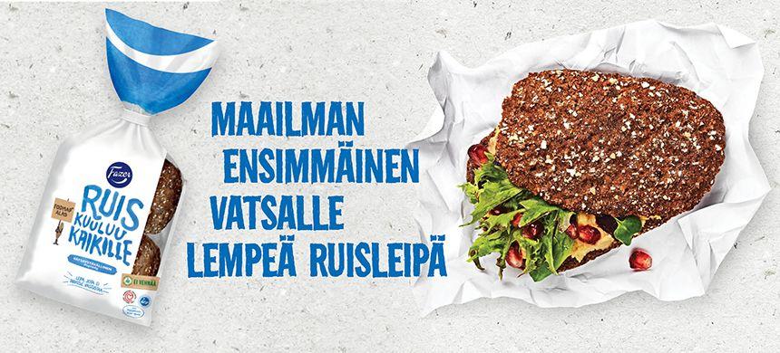 Low FODMAP rye bread: Fazer Vatsaystävällinen Ruis.