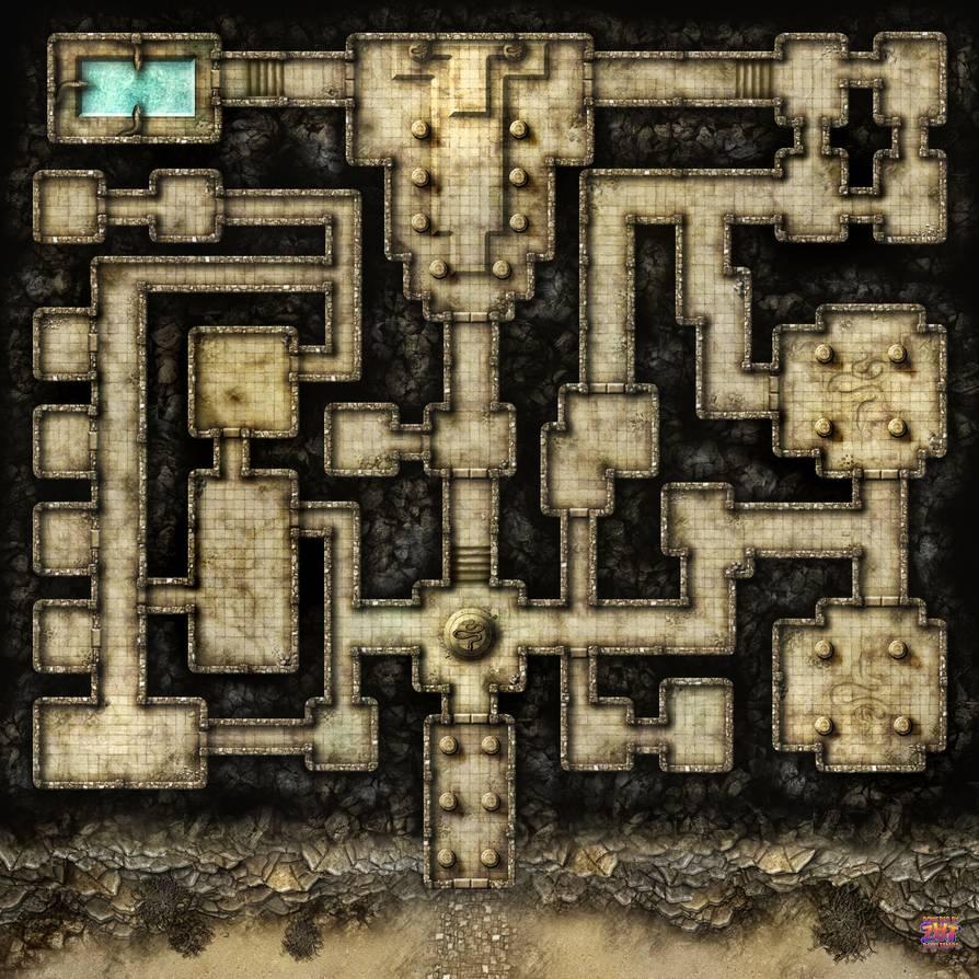 Desert Dungeon NoGrid by Zatnikotel on DeviantArt in 2020