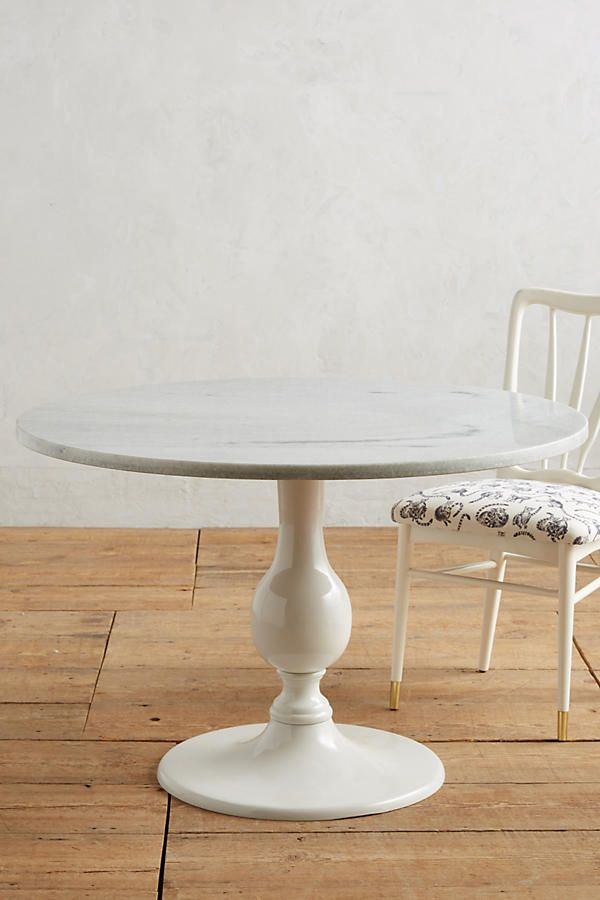 Slide View 2 Annaway Dining Table Marble Top Dining Table