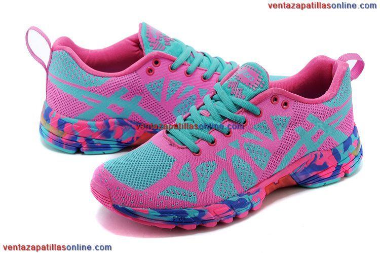 zapatillas running asics mujer gel