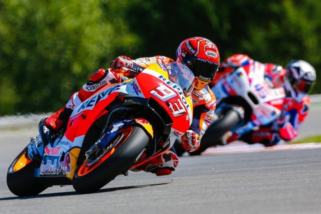 Hasil Kualifikasi Motogp Ceko  Marquez Pole Position Rossi Kedua
