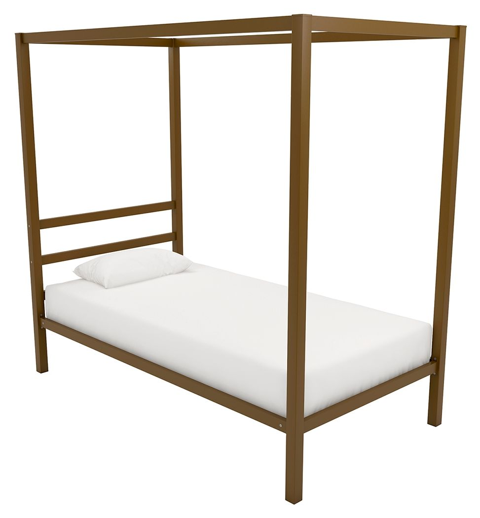 Modern Metal Canopy Twin Bed Modern Canopy Bed Metal Canopy Bed