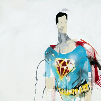 Anthony Lister Paints Comic Super Heroes Pretty Cool Comic Book Art Style Geeky Art Art