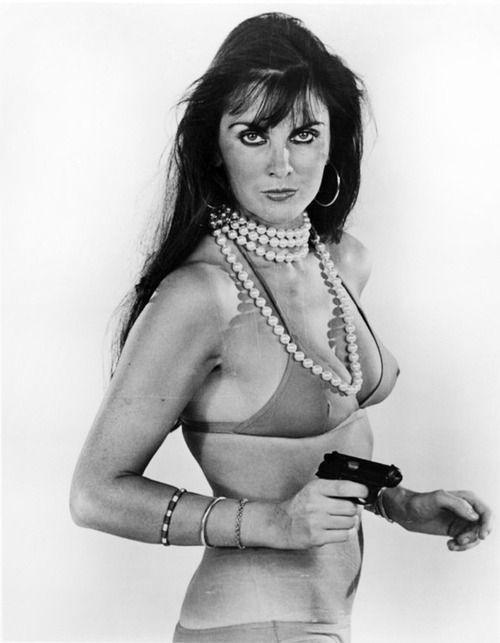 James Bond Girl Caroline Munro As Naomi In The Spy Who Loved